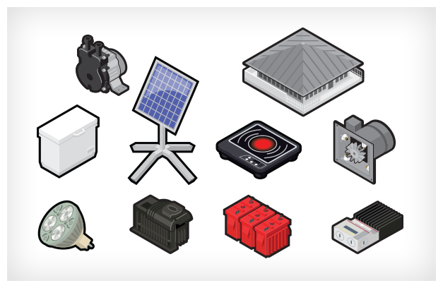 Free Flow Energy Icons